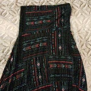 Aztec maxi dress or skirt